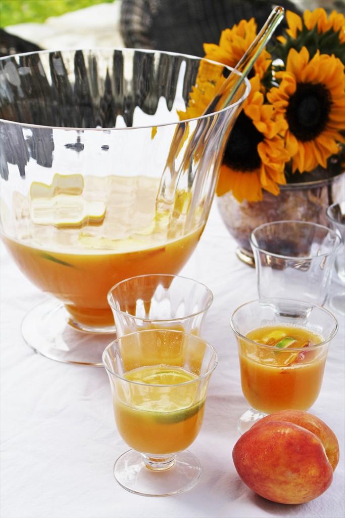 Peach Sangria Summer ivydeleon.com
