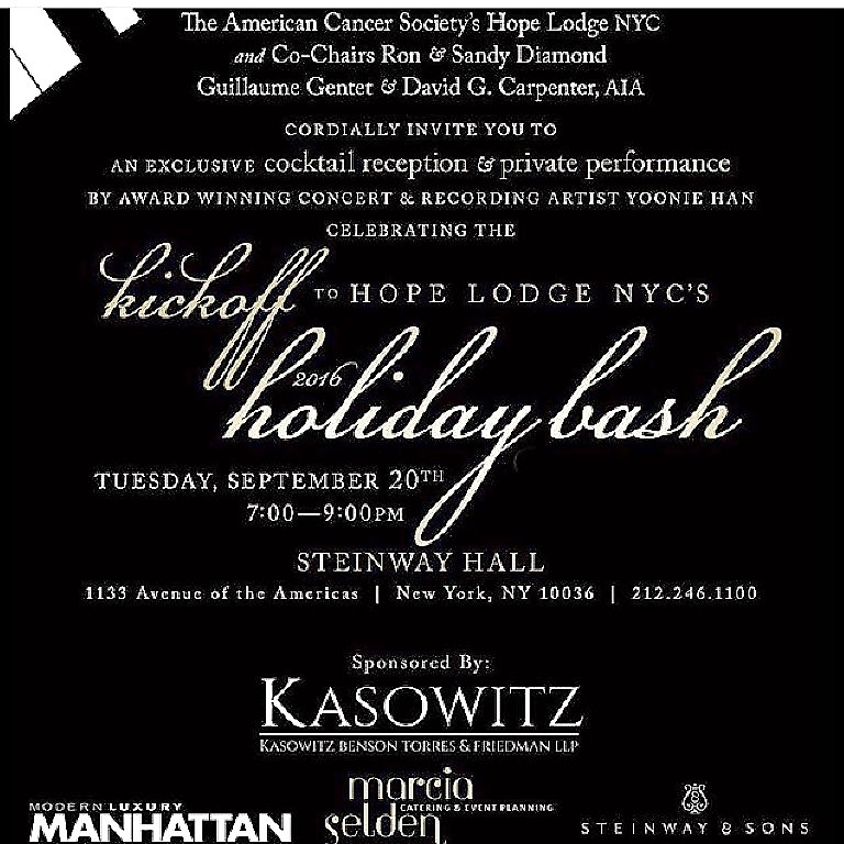 Holiday Bash for Hope Lodge NYC