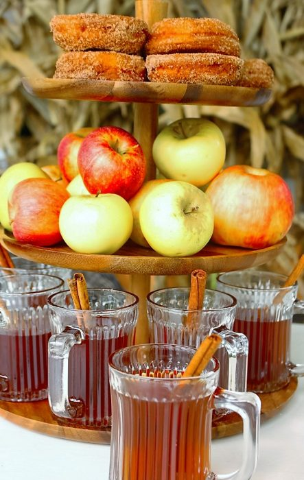 fall outdoors apple cider