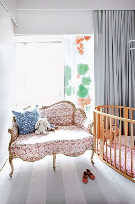 nursery Kate Schelter's Apartment Domino Magazine ivydeleon.com